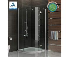 Moderno y atemporal de cabina de ducha de vidrio cabinas de ducha con mampara antical 3078193010 métrica 90 x 90 x 195