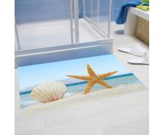 """Papillon """"concha y mar Holliday"""" losse alfombrilla de baño, poliéster, Multi-color, 60 x 40 cm"""