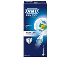 Braun Oral-B Professional Care 700 White & Clean - Cepillo de dientes eléctrico