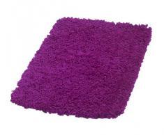 Ridder 7456130-350 Softy - Alfombra de baño (50 x 75 cm, 100 % microfibra de poliéster), color violeta