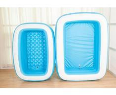 OOFWY Un solo adulto doble de la bañera inflable, niños plegable Bañera , S