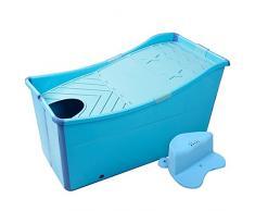 l Tina De Baño Plegable Inicio Tina De Baño De Plástico Para Adultos / Tina De Baño Para Niños ( Color : Azul , Tamaño : A )
