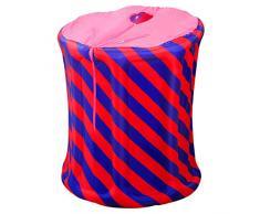 Más gruesa Bañera inflable baño Inflable Plegable adultos piscinas portatil Caja de sauna plegable Sala de sauna for el hogar cocción al vapor familiar Máquina de fumigación de la máquina de vapor