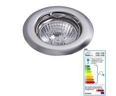 raba Lux Foco empotrable Spot Light Color: Cromo Moderno y focos Diámetro: 80