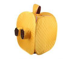 GXJ 2.5 L Sauna de vapór Portable Portable desintoxicar Perder Peso SPA Personal Cuerpo 80 * 80 * 100cm,Yellow