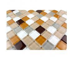 azulejos de mosaico cocina y baño mv-honey