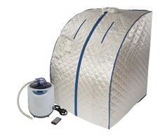 Sauna del enchufar, Sauna de vapór portable con control remoto inalámbrico práctico