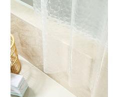 Cortina gruesa para ducha, diseño 3D impermeable baño diseño de gotas de agua, transparente de OPEN BUY