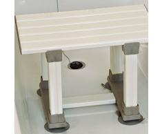 NRS Healthcare M78433 - Taburete para ducha, superficie antideslizante, altura 305 mm
