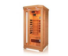 Cabina de infrarrojos/calor cabina/sauna – Esquina. Para 1 Persona Especial Acción