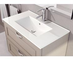 LAVABO SOBRE MUEBLE ART&BATH THIN 1010x460 (NO INCLUYE MUEBLE)