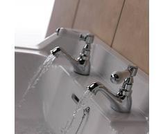 Lavabo doble compra barato lavabos dobles online en livingo for Grifo lavabo vintage