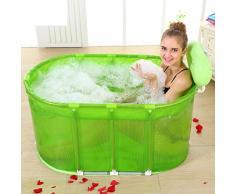 bañera plegable grande/ baño de burbujas barriles/Bañera de adultos/Tina acero inoxidable stent-A
