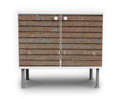 Lavabo mueble de baño armario mueble lavabo mueble de baño con diseño: puerta de garaje