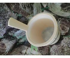 Achleitner Balde para sauna, madera de abeto, 5 litros, con pieza de plástico