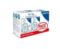 Brita On Tap - Recambio para filtro de grifo, pack de 2