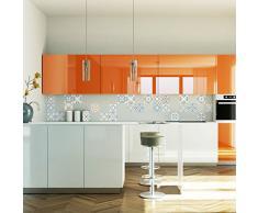 Cuadros de Cemento Adhesiva Pared - Azulejos - 15 x 15 cm - 24 Piezas