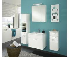 Posseik 5673 76 Malaga - Armario Con Espejos Para Baño (marano), Color Blanco