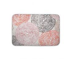 Stilia, Alfombra de Baño y Ducha con Base Antideslizante, Sound 60x40 cmts, Multicolor, 60 x 40 cm