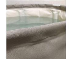 GZ Bañera de Adultos para el Hogar, Bañera Plegable Desmontable, Engrosada en Caliente,Gris,70 * 65 cm