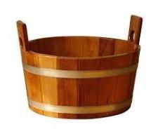 Sudor Ewell® Sauna Soporte bañera de madera barnizado con Higiene sellado