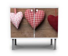 Lavabo mueble de baño armario mueble lavabo mueble de baño con diseño: corazón