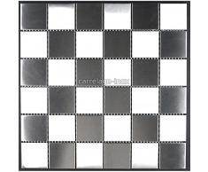 azulejo mosaico acero inoxidable cocina y baño mi-dam-48
