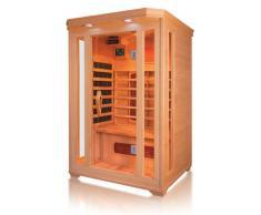 Cabina de infrarrojos de esquina - Sauna para 2 personas