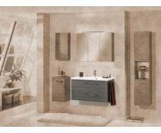 Lavabo mueble para fregadero de color Vadea (front): pino antracita, color (estructura): pino Antracita