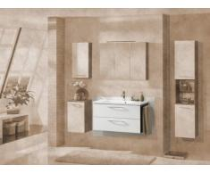 Lavabo Armario vadea (frontal): Color Blanco, color (estructura): pino Antracita