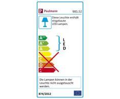 Paulmann 98352 iluminación de techo - Lámpara (dormitorio, Cocina, Salón, Cromo, alrededor, LED, 6500 K, Luz de día)