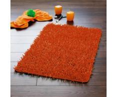 Ridder 7338140-350 Bob - Alfombra de baño (50 x 50 cm), color naranja