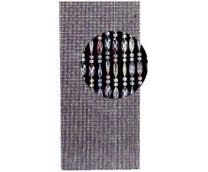 Multicolor cortina cristal coral cm.125x240