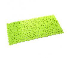Alfombra baño verde 35x70