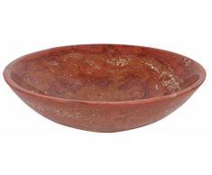 Piedra de mármol Travertino de piscina lavabo de las habitaciones 35 cm x 12 cm (DEB0064)