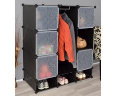 Guardarropa ,armario vestidor con espacio para zapatos para pasillo,habitación infantil,salón y baño