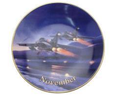 Davenport alas de la fama de noviembre de defensa del Reino Wilfred Hardy Panavia Tornado 6 pulgadas plato CP1725
