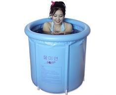 MOMO Bañera Bañera plegable, Bañera portátil, Bañera de plástico, Bañera de hidromasaje, Bañera de masaje