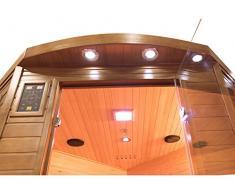Sauna Infrarrojos Spectra 3 Plazas Angular Poolstar SN-SPECTRA04C
