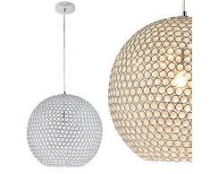 Extravagante LED cristal lampara colgante de techo Ø40cm