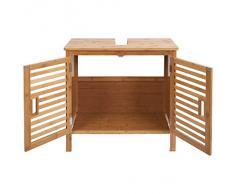 "Mueble bajo lavabo en bambu ""sunrise"" 66x29x61cm bambú"