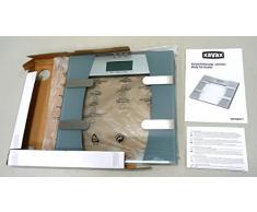 Xavax 00106977 Amelie - Báscula de baño con índice de grasa corporal