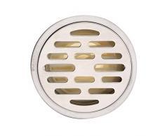El acero inoxidable olor desagüe en el suelo/Dren de piso cocina aseo cuarto de baño/Desagüe de la ducha, drenaje de piso circular-A