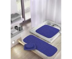 Kleine Wolke 0241713009 Java-Plus - Alfombrilla para bañera (36 x 92 cm), color azul