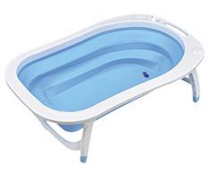 Asalvo F90500C - Bañera flexible, color azul