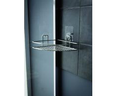 Compactor Bath - Repisa de Esquina para Ducha (fijación sin taladros)