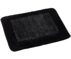 Spirella 1014276 Simply - Alfombrilla de baño (55 x 65 cm), color negro