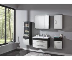 Posseik 5681-84 Rima - Armario de baño con espejo (80 cm)