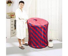 FACAI888 Inflable casa vapor habitaciones sauna caja plegable familia de motores de barril de fumigación con