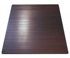 Ridder Jungle 79533380-350 - Alfombrilla de baño (60 x 90 cm), color madera oscura